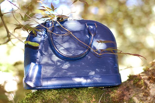 Louis Vuitton Alma BB in Indigo