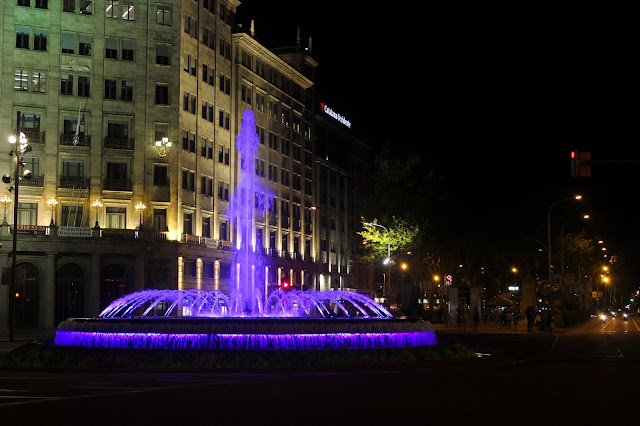 Fountain | Passeig de Gracia  | Chichi Mary Blog