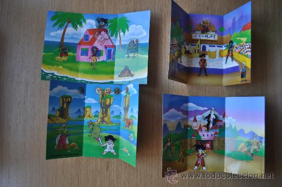 Dioramas de Danone - Dragon Ball