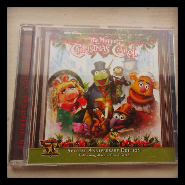 The Muppet Christmas Carol CD Soundtrack