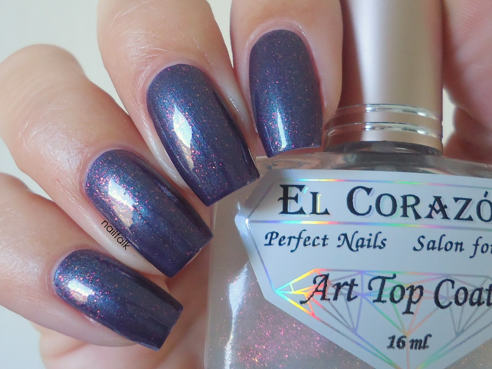 El Corazon Art Top Coat 4213 Multi Nailtalk