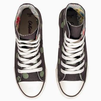 prickig grön sneaker Cath kidston
