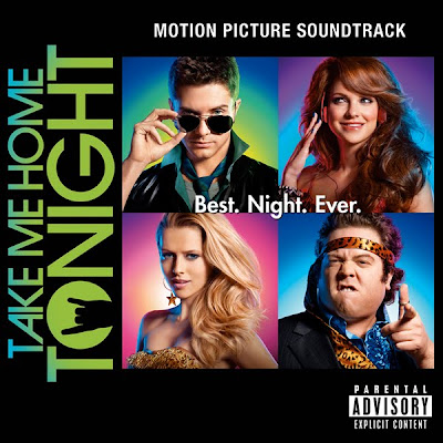 Take Me Home Tonight Motion Picture Soundtrack Official Album Cover