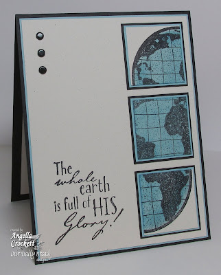 ODBD The Earth, Card Designer Angie Crockett