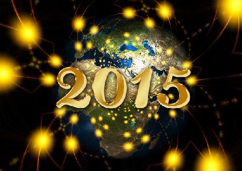 Imagen de Feliz 2015 con licencia cc en pixabay.com