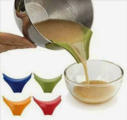 Innovative Product Silicone Slip On Spout To Pour Coffee Tea Without Spilling