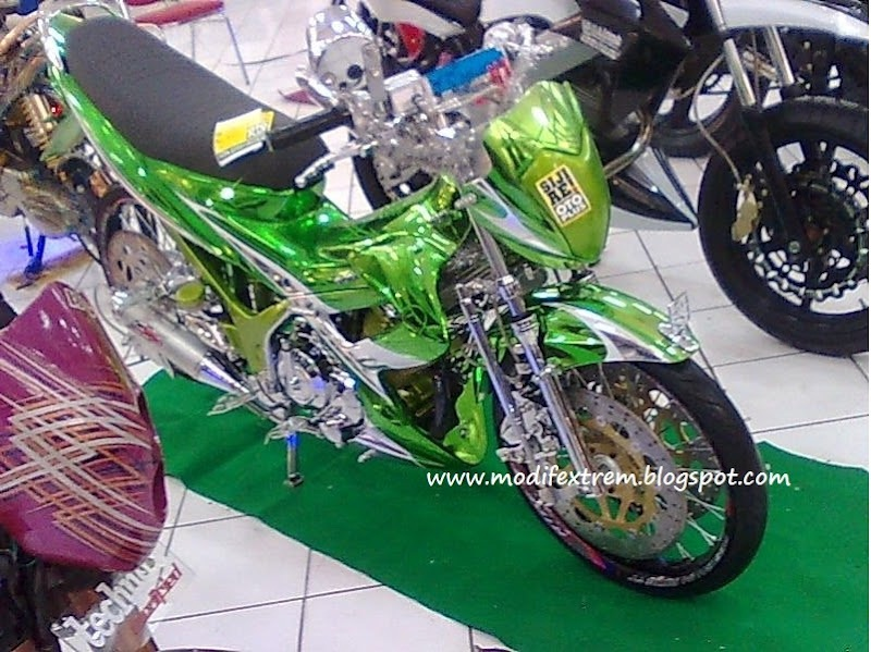 10 Modifikasi Motor Satria Fu Terkeren  New Style for 20162017