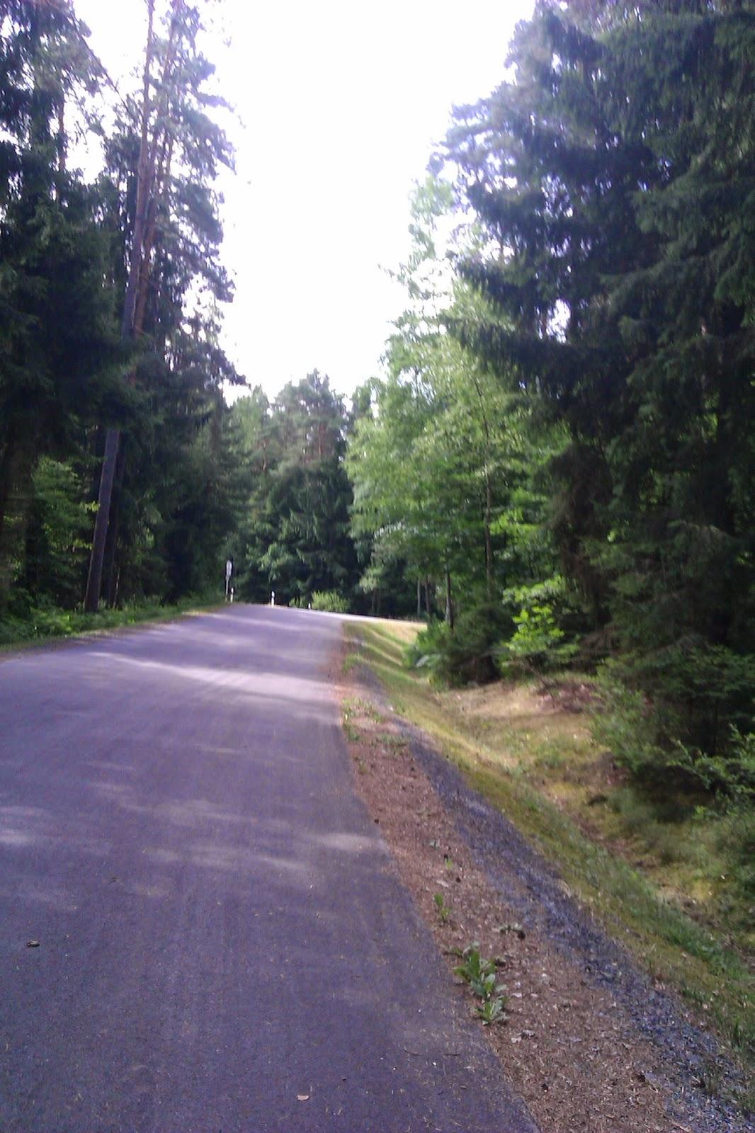 Radfahren Bundesstrasse