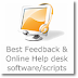 7 Best Feedback & Online Help desk software/scripts