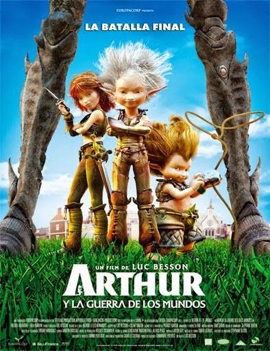 Ver Arthur 3: La guerra de dos mundos (2010) Online