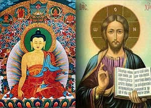 Warning For Religious People   Buddha-jesus