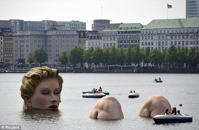 The Bather, Die Badende, Hamburg