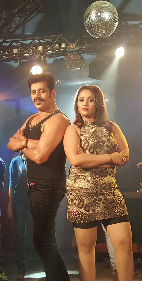 Ravi Kishan, Rani Chatterjee Hum Hai Jodi No 1 Bhojpuri Movie Shooting stills, Hum Hai Jodi No 1 Bhandar Bhojpuri Movie