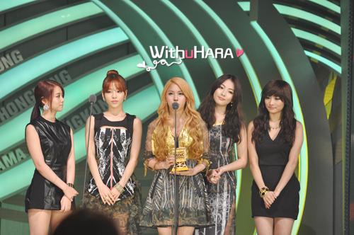 KARA 2012 Mnet Music Award Picture