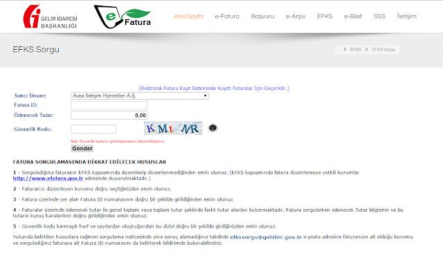 http://www.efatura.gov.tr/efkssorgu.html