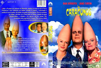 Cover, Caratula, Dvd: Los Caraconos | 1993 | Coneheads