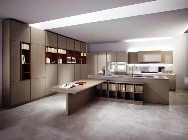 15 elegant minimalist kitchen designs with modern kitchen for Modern kitchen furniture design