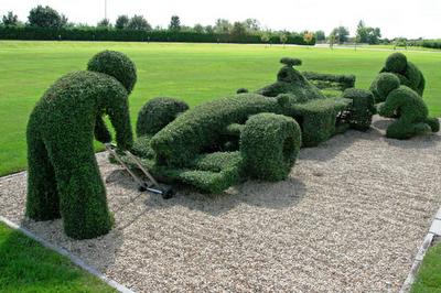 Arte y jardiner a arte topiario jardiner a ornamental for Ornamental definicion