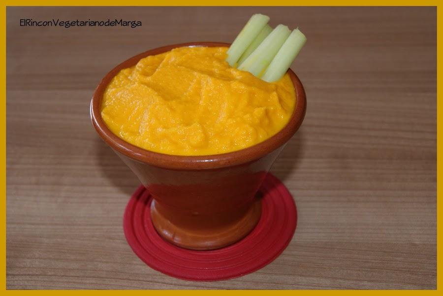 Mayonesa vegetariana de zanahoria