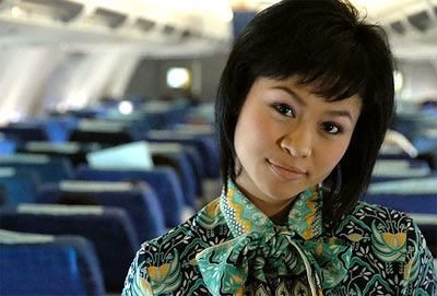 Garuda stewardess