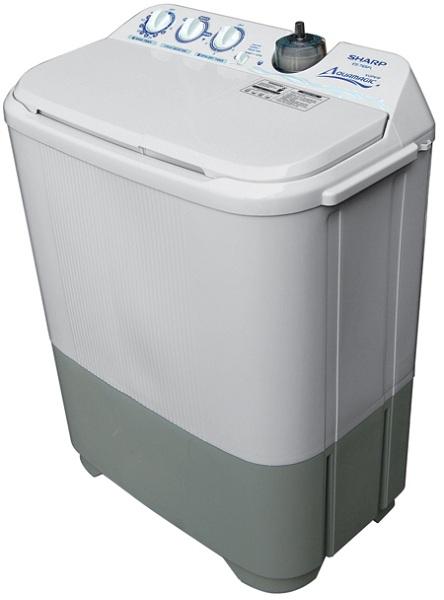 Mesin cuci 2 tabung merupakan mesin cuci yang pencuci wash dan