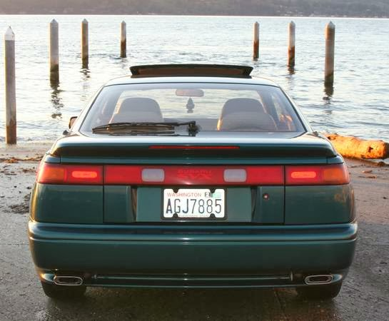 Just A Car Geek 1996 Subaru Svx 10 Years Ahead Of Its Time