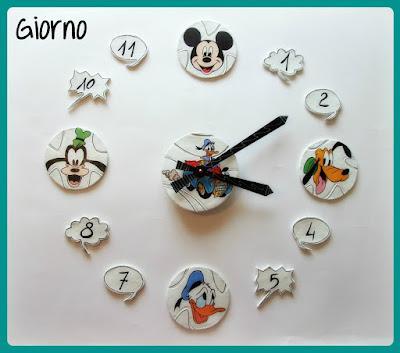 orologio camera bambini