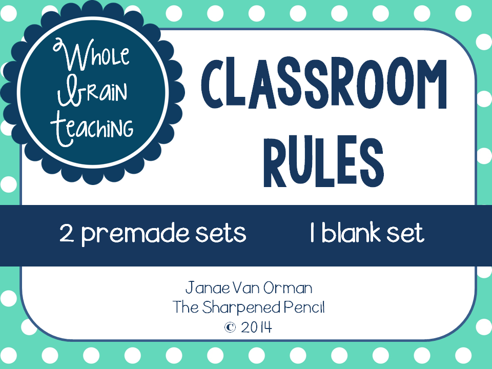 http://www.teacherspayteachers.com/Product/Class-Rules-Posters-Whole-Brain-Teaching-1346928
