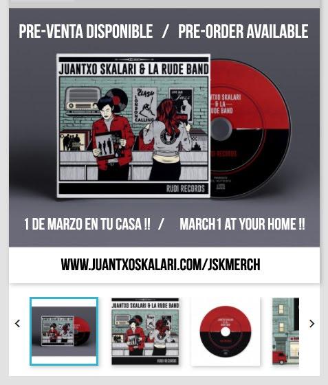 """PRE- ORDER ALBUM """"RUDI RECORDS"""""""