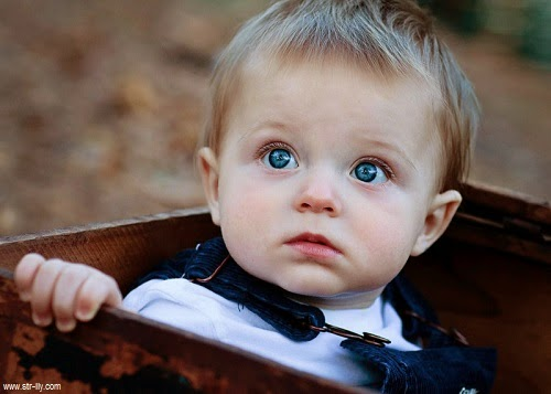 Beau bébé garçon photo