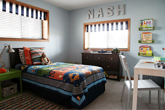 Bedroom decorating ideas for 7 year old boy bedroom for Room decor for 6 year old boy