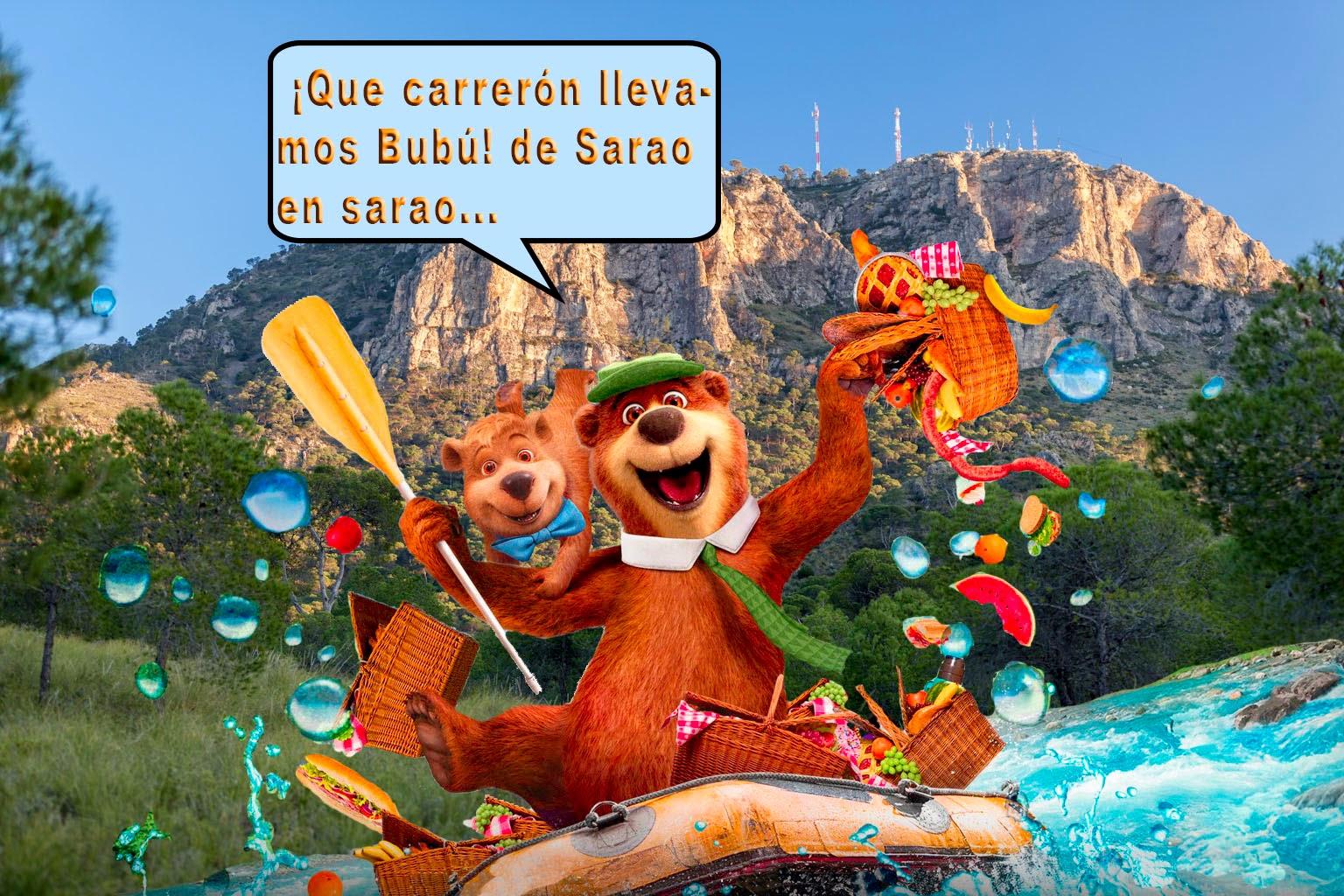 Yogui y Bubú en su meteórica carrera triunfal