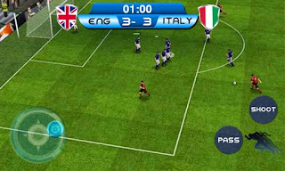 Screenshots of the Real football 2014 Brazil for Android tablet, phone.