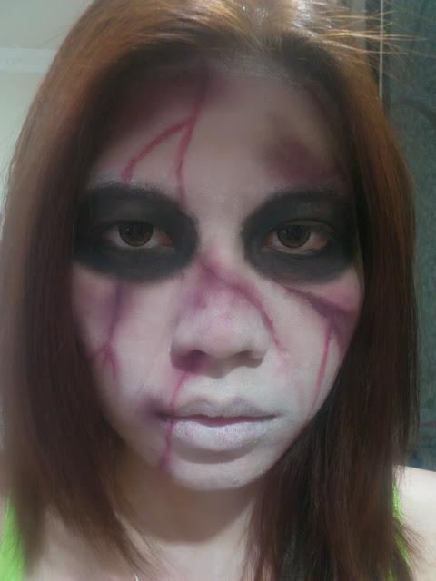 kuntilanak, indonesian ghost, halloween, hallowen makeup