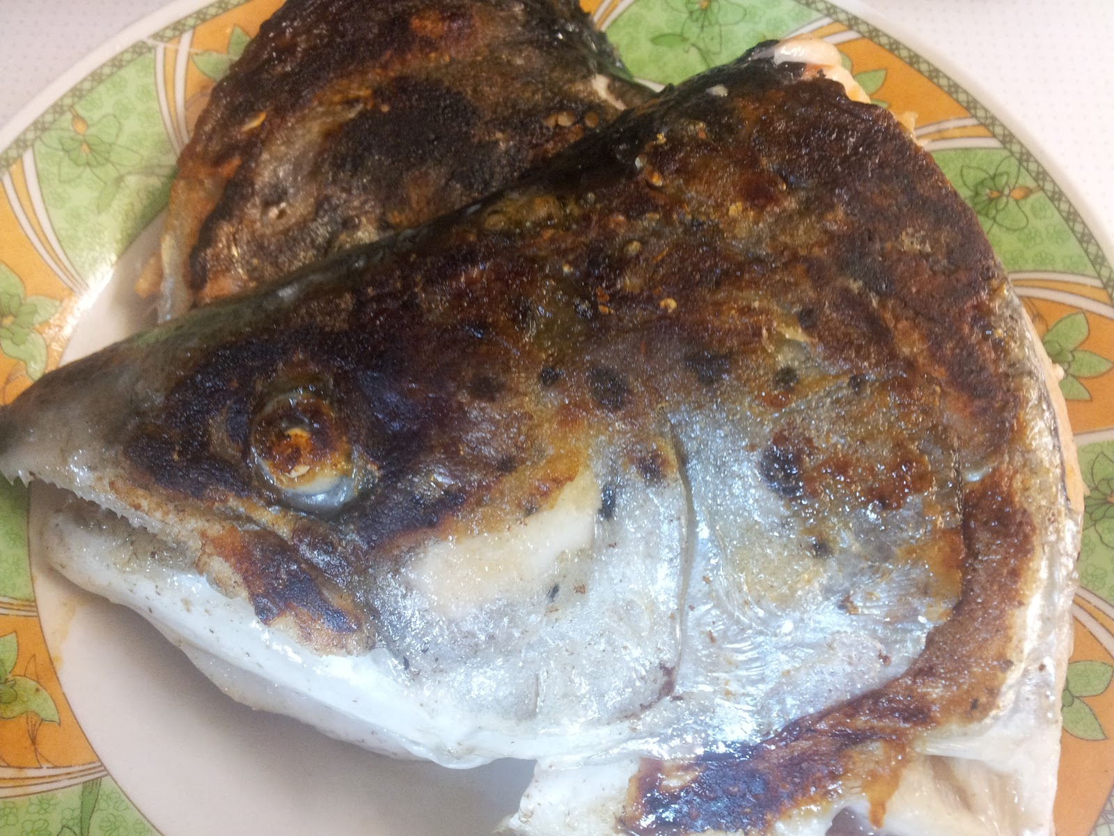 how to cook salmon head