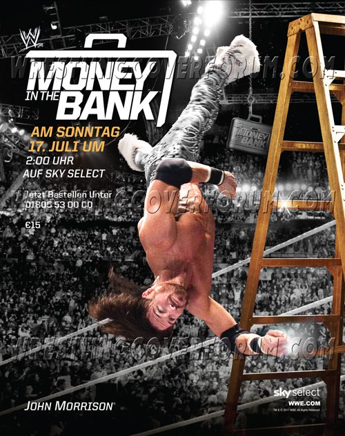 Image result for money in the bank 2010 poster