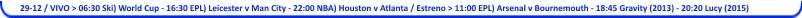 Programacion Super Canal Television - 15-12-29