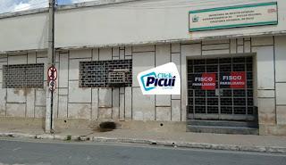 Em Picuí servidores do Fisco Estadual também paralisam atividades