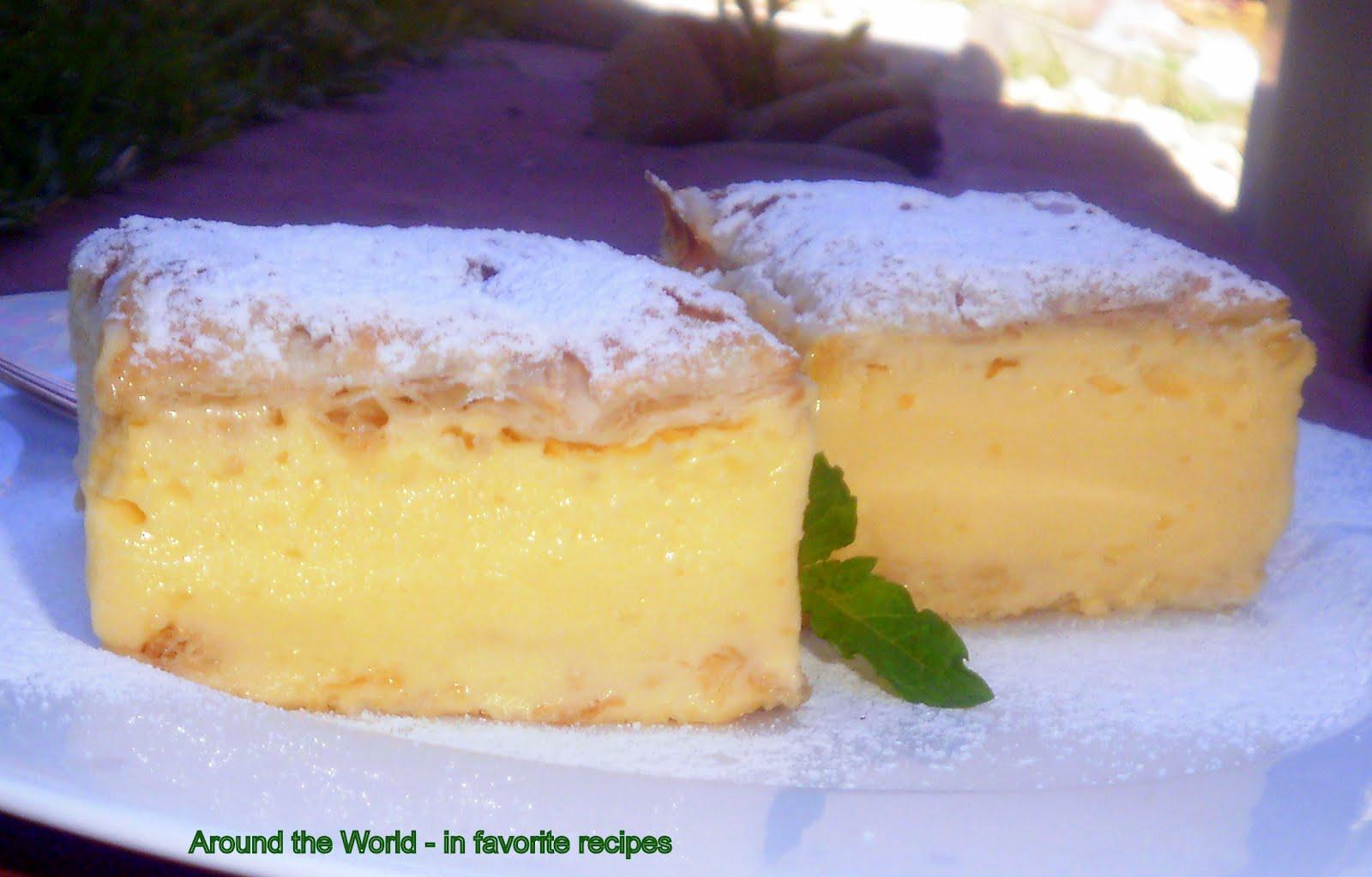how to make vanilla slices uk
