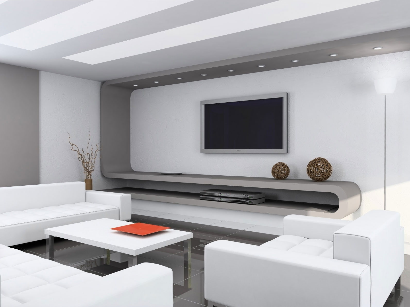 Home design with minimalist interior design for Minimalist house design