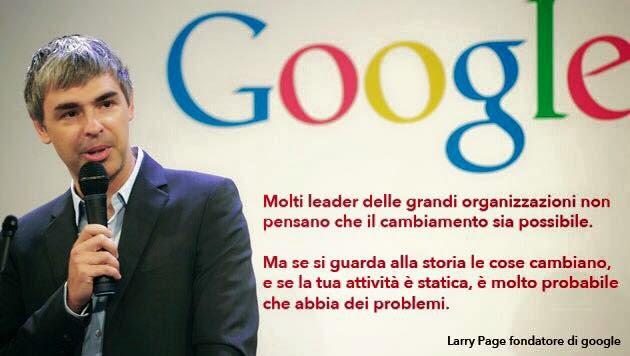 Una Riflessione del fondatore di Google