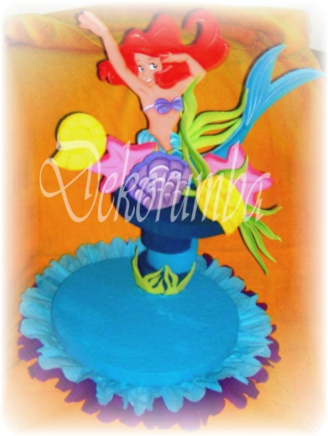 Dekorumba: Chupetero de La Sirenita