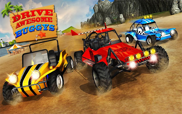 Download Buggy Stunts 3D: Beach Mania v1.1 Apk For Android