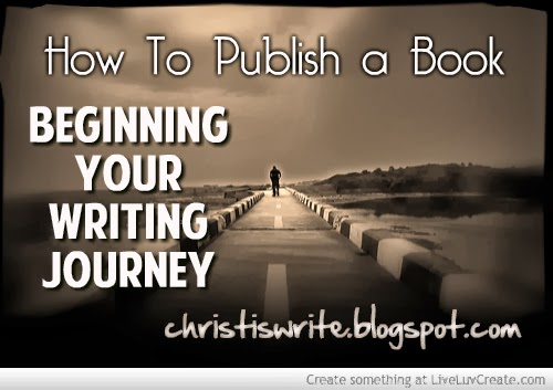 how to write a journey