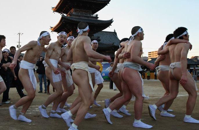 Geleneksel Japon Festivali - Hadaka Matsuri