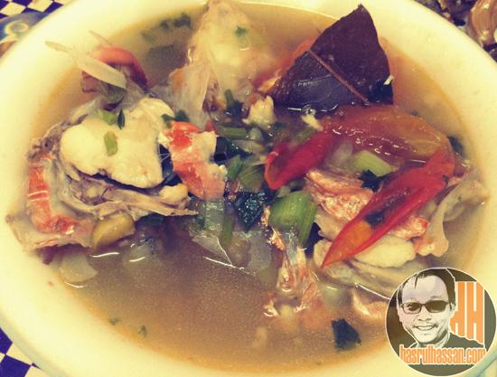 Resepi Mudah Sup Kepala Ikan Merah