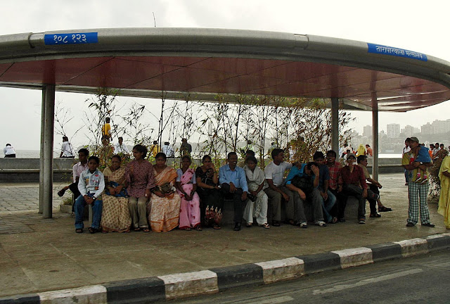 marine drive bus stop