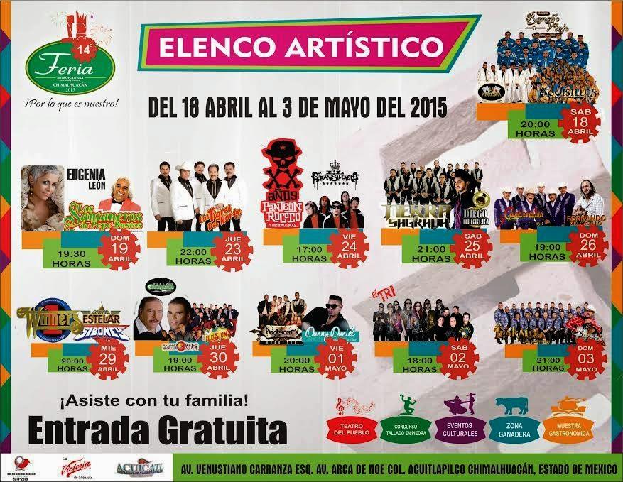 feria chimalhuacán 2015 teatro del pueblo