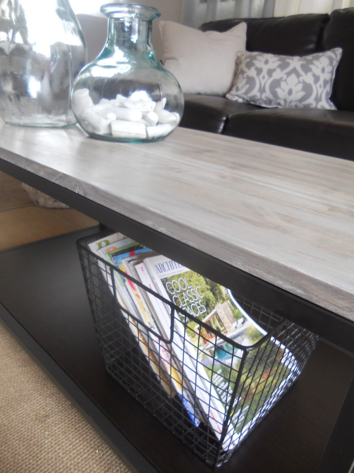 SL Designs DIY Box Frame Coffee Table