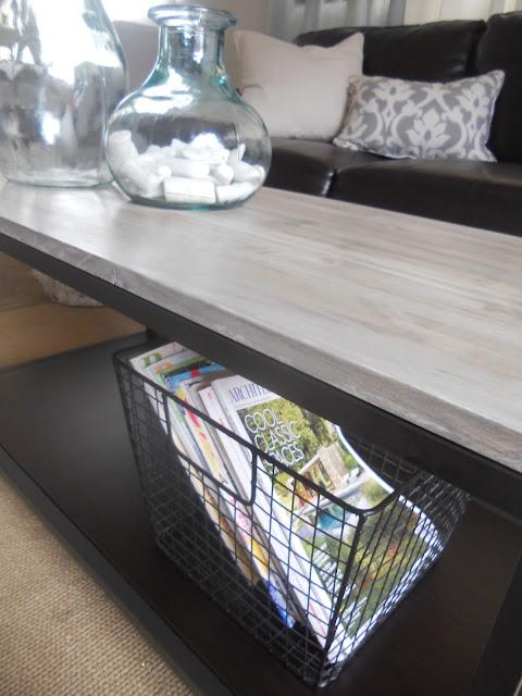 SL Designs: DIY: Box Frame Coffee Table